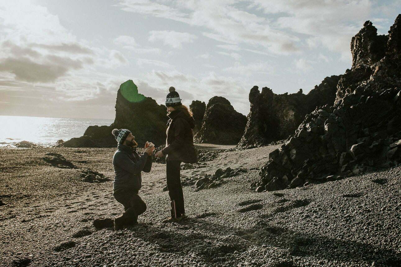 Zaręczyny na Islandii - Wojciech Bednarczuk Fotografia